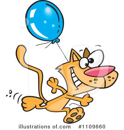 Cat Clipart #1109660 by toonaday