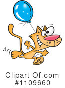 Royalty-Free (RF) Cat Clipart Illustration #1109660