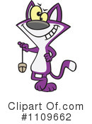 Royalty-Free (RF) Cat Clipart Illustration #1109662