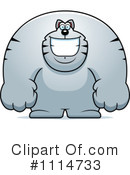 Royalty-Free (RF) Cat Clipart Illustration #1114733
