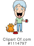 Royalty-Free (RF) Cat Clipart Illustration #1114797