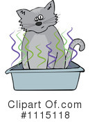 Royalty-Free (RF) Cat Clipart Illustration #1115118