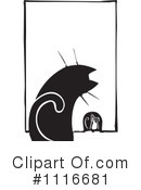 Royalty-Free (RF) Cat Clipart Illustration #1116681