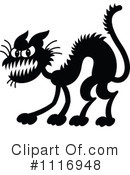 Royalty-Free (RF) Cat Clipart Illustration #1116948