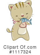 Royalty-Free (RF) Cat Clipart Illustration #1117324
