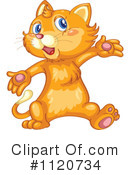 Royalty-Free (RF) Cat Clipart Illustration #1120734