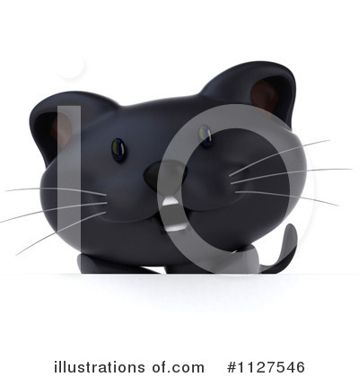 Black Cat Clipart #1127546 by Julos