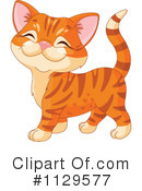 Royalty-Free (RF) Cat Clipart Illustration #1129577