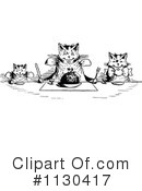 Royalty-Free (RF) Cat Clipart Illustration #1130417