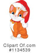 Royalty-Free (RF) Cat Clipart Illustration #1134539