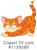 Royalty-Free (RF) Cat Clipart Illustration #1139285