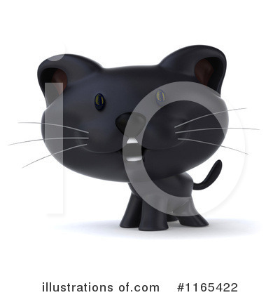 Black Cat Clipart #1165422 by Julos