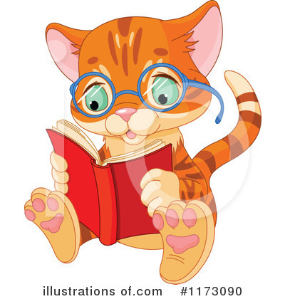 Reading Clipart #1173090 by Pushkin