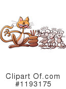 Cat Clipart #1193175 by Zooco