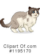 Cat Clipart #1195170 by BNP Design Studio