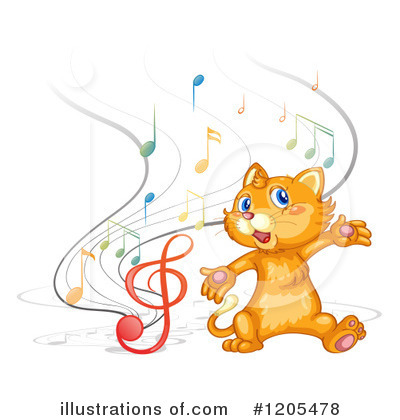 Singing Clipart #1205478 by Graphics RF