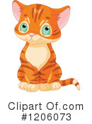 Royalty-Free (RF) Cat Clipart Illustration #1206073