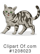 Cat Clipart #1208023 by BNP Design Studio