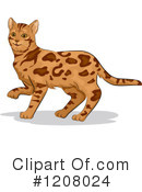Cat Clipart #1208024 by BNP Design Studio