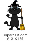 Royalty-Free (RF) Cat Clipart Illustration #1210175