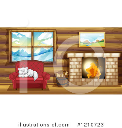 Fireplace Clipart #1210723 by Graphics RF