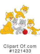 Cat Clipart #1221433 by Alex Bannykh