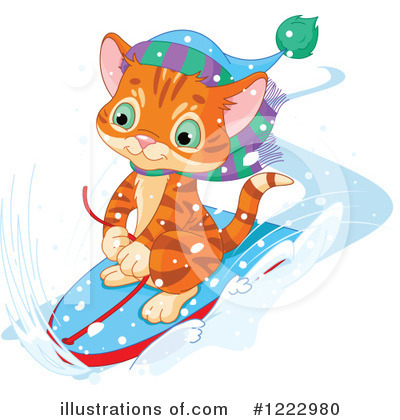 Tabby Cat Clipart #1222980 by Pushkin