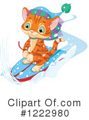 Royalty-Free (RF) Cat Clipart Illustration #1222980