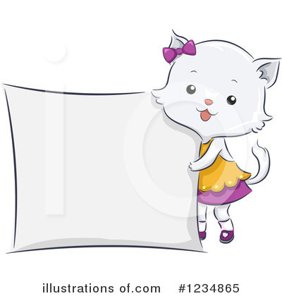 Cat Clipart #1234865 by BNP Design Studio