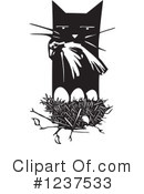Royalty-Free (RF) Cat Clipart Illustration #1237533