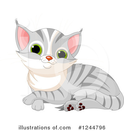 Tabby Cat Clipart #1244796 by Pushkin