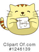 Royalty-Free (RF) Cat Clipart Illustration #1246139