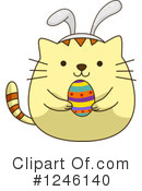 Royalty-Free (RF) Cat Clipart Illustration #1246140