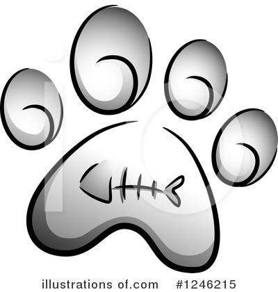 Cat Clipart #1246215 by BNP Design Studio