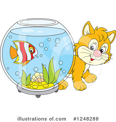Fish Clipart #1248288 by Alex Bannykh