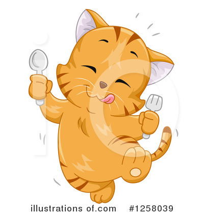 Cat Clipart #1258039 by BNP Design Studio