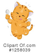 Royalty-Free (RF) Cat Clipart Illustration #1258039