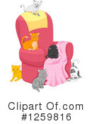 Royalty-Free (RF) Cat Clipart Illustration #1259816
