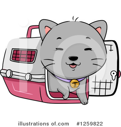 Cat Clipart #1259822 by BNP Design Studio