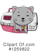 Royalty-Free (RF) Cat Clipart Illustration #1259822
