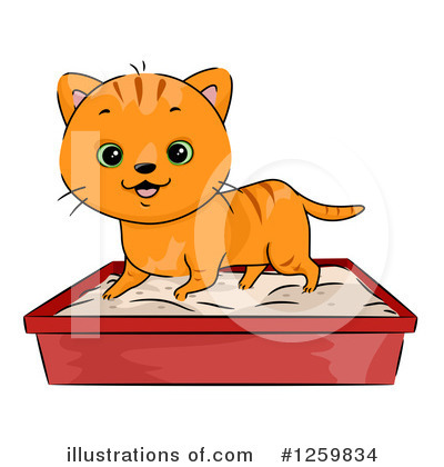 Cat Clipart #1259834 by BNP Design Studio