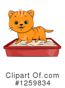 Royalty-Free (RF) Cat Clipart Illustration #1259834