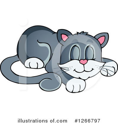 Cat Clipart #1266797 by visekart