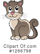 Royalty-Free (RF) Cat Clipart Illustration #1266798