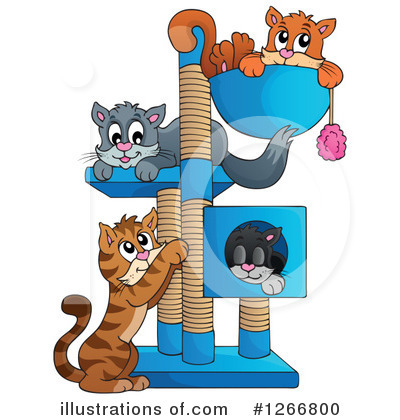 Cat Clipart #1266800 by visekart