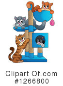 Royalty-Free (RF) Cat Clipart Illustration #1266800