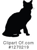 Cat Clipart #1270219 by Maria Bell