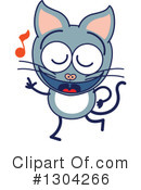 Cat Clipart #1304266 by Zooco