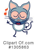 Cat Clipart #1305863 by Zooco