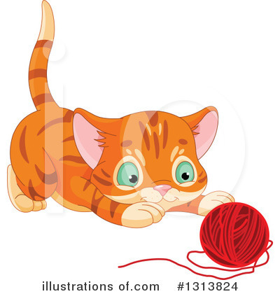 Cat Clipart #1313824 by Pushkin